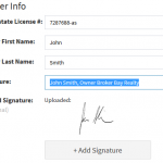 New Feature! Automatically Add Your Signature to Your Commission Disbursements